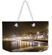 Night City Weekender Tote Bag