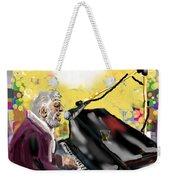 Night Club Singer Weekender Tote Bag