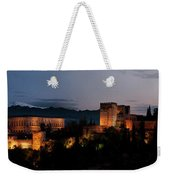 Night Comes To The Alhambra Weekender Tote Bag
