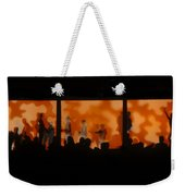 Night Dance Weekender Tote Bag