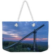 Night Fall Weekender Tote Bag