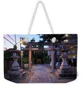 Night Falls On Esaka Shrine Weekender Tote Bag