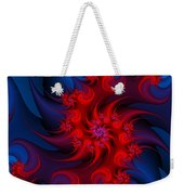 Night Fire Weekender Tote Bag