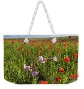 Night Flowering Catchfly And Poppies Weekender Tote Bag
