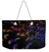 Night Flowers Weekender Tote Bag