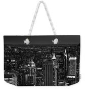 Night In Manhattan Weekender Tote Bag