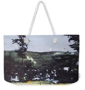 Night Landscape From Documentary Still Weekender Tote Bag