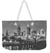 Night Landscape In Melbourne Weekender Tote Bag