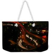 Night Lights Oregon Weekender Tote Bag