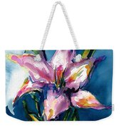 Night Lily Weekender Tote Bag