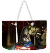 Night Mares At The Central Park Carousel 3 Weekender Tote Bag