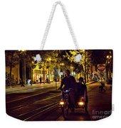 Night Moods Streets Of San Jose   Weekender Tote Bag