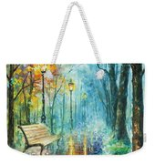Night Of Inspiration Weekender Tote Bag
