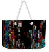 Night On The Town - Digital Art Weekender Tote Bag