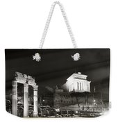 Night Panorama In Rome Weekender Tote Bag