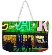 Night Park Weekender Tote Bag
