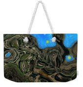 Night Petrified Weekender Tote Bag