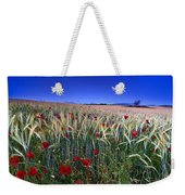 Night Poppies Weekender Tote Bag