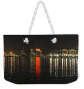 Night Reflections Weekender Tote Bag