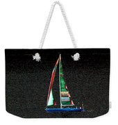 Night Sail 2 Weekender Tote Bag