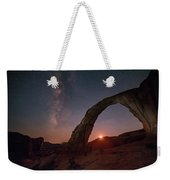 Night Sky At Corona Ach Weekender Tote Bag