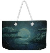Night Sky Peek-a-boo Weekender Tote Bag