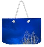 Night Sky Weekender Tote Bag by Steve Gadomski