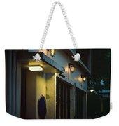 Night Street Cafe Weekender Tote Bag