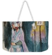 Night Stutter Weekender Tote Bag