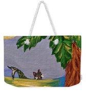Night-swimming Mercat Weekender Tote Bag