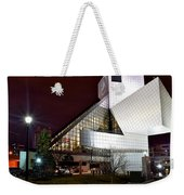 Night Time At The Rock Hall Weekender Tote Bag