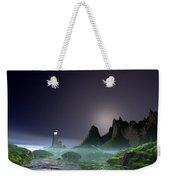 Night Time Ocean Scene Weekender Tote Bag