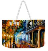 Night Transformation Weekender Tote Bag