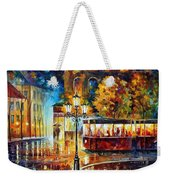 Night Trolley Weekender Tote Bag