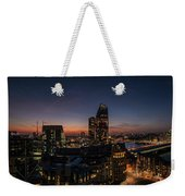 Night View Of The City Of London Weekender Tote Bag