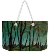 Night Walk Weekender Tote Bag