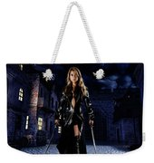 Night Warrior Weekender Tote Bag