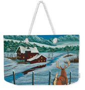 Night Watch Weekender Tote Bag by Charlotte Blanchard