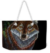 Night Wolf Weekender Tote Bag