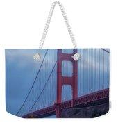 Nightfall Over Golden Gate Weekender Tote Bag