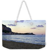 Nightfalls Over The Mediterranean Weekender Tote Bag
