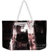 Red Pill Weekender Tote Bag