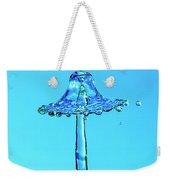 Nightshade Water Droplet Weekender Tote Bag