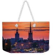 Nightsky Over Stockholm Weekender Tote Bag