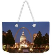 Nighttime At The Arch Weekender Tote Bag