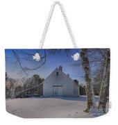 Nighttime At The Mallett Barn Weekender Tote Bag