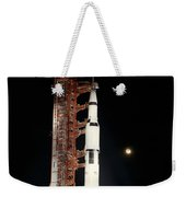 Nighttime View Of The Apollo 12 Space Weekender Tote Bag