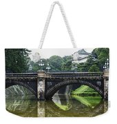 Nijubashi Bridge At Imperial Palace Weekender Tote Bag