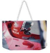 Niki Lauda. 1978 United States Grand Prix Weekender Tote Bag