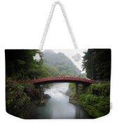 Nikko Shin-kyo Bridge Weekender Tote Bag